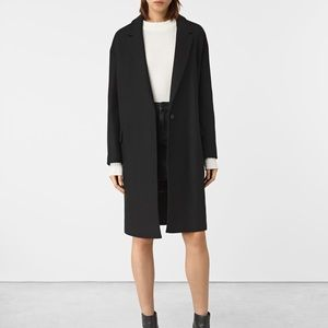 All saints wool coat.